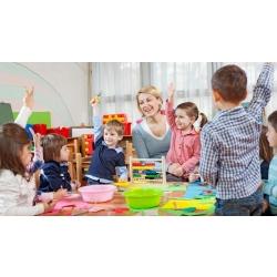 Кто повёл детей в детский сад?