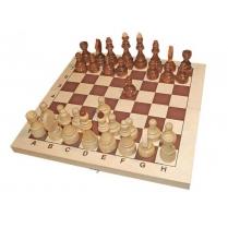 Шахматы гроссмейстерские деревянные с доской 40 х 40 см